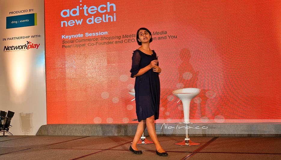 Pearl Uppal Keynote Adtech New Delhi